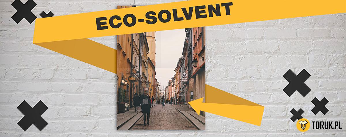 Eco-solvent w T-Druku