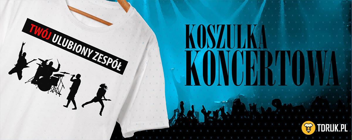 Twoja niepowtarzalna koszulka koncertowa